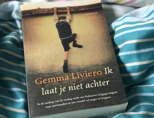 Recensie Ik laat je niet achter – Gemma Liviero